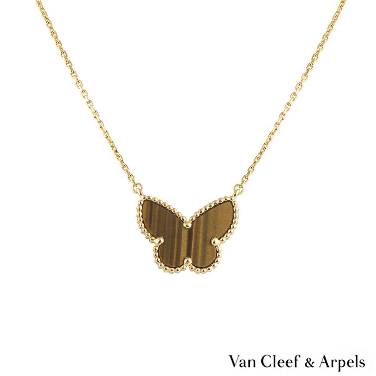Van Cleef & Arpels Lucky Alhambra Butterfly Pendant